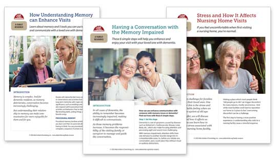 Family Caregiver Education Resource flyers