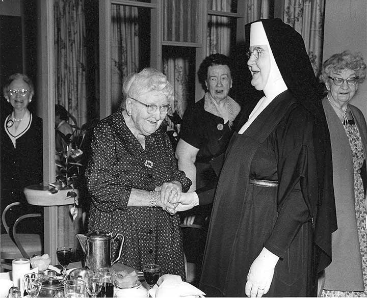 Our Foundress, Mother Angeline Teresa McCrory, O.Carm.